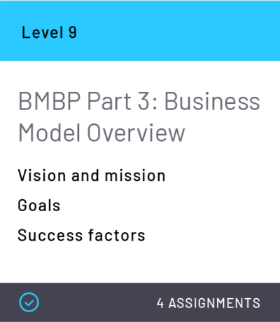 BMBP Part 3: Business Model Overview